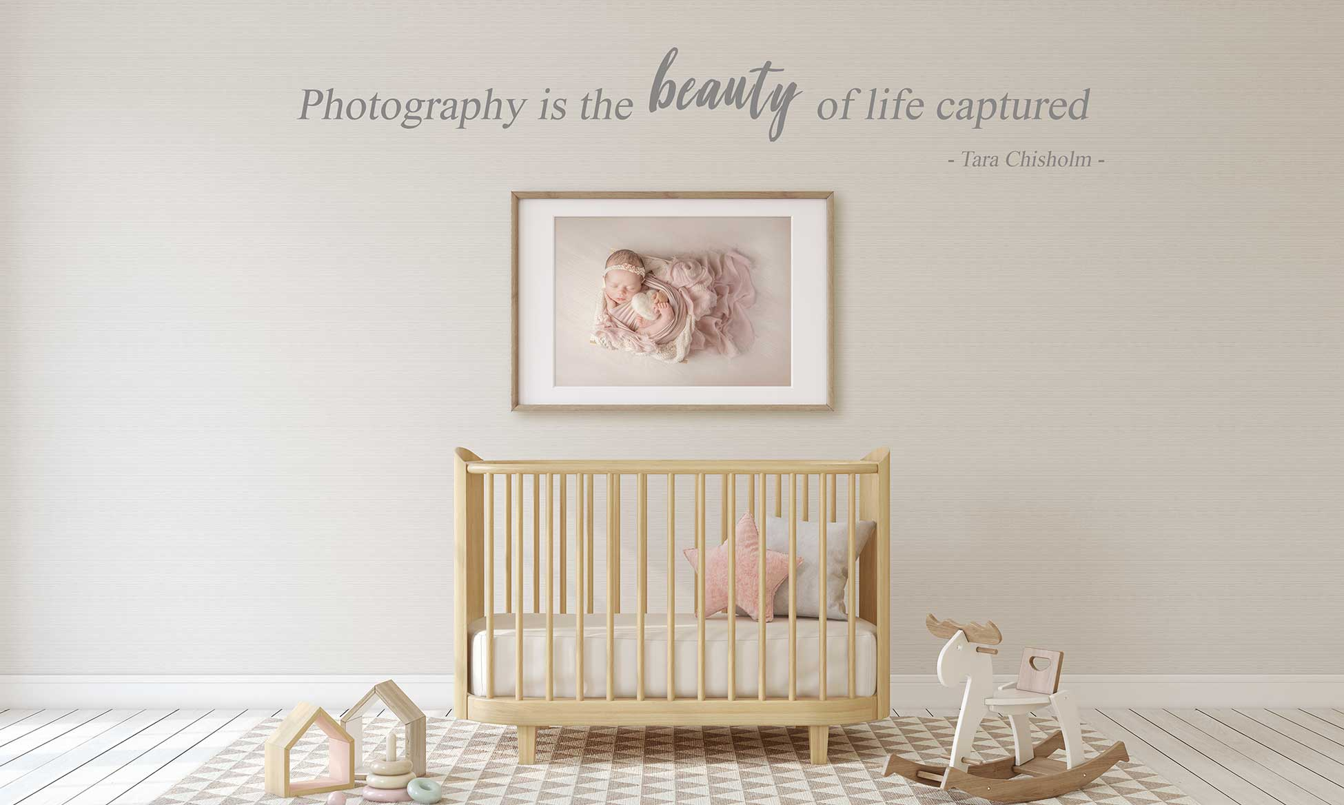 wall display frame picture art in nursery