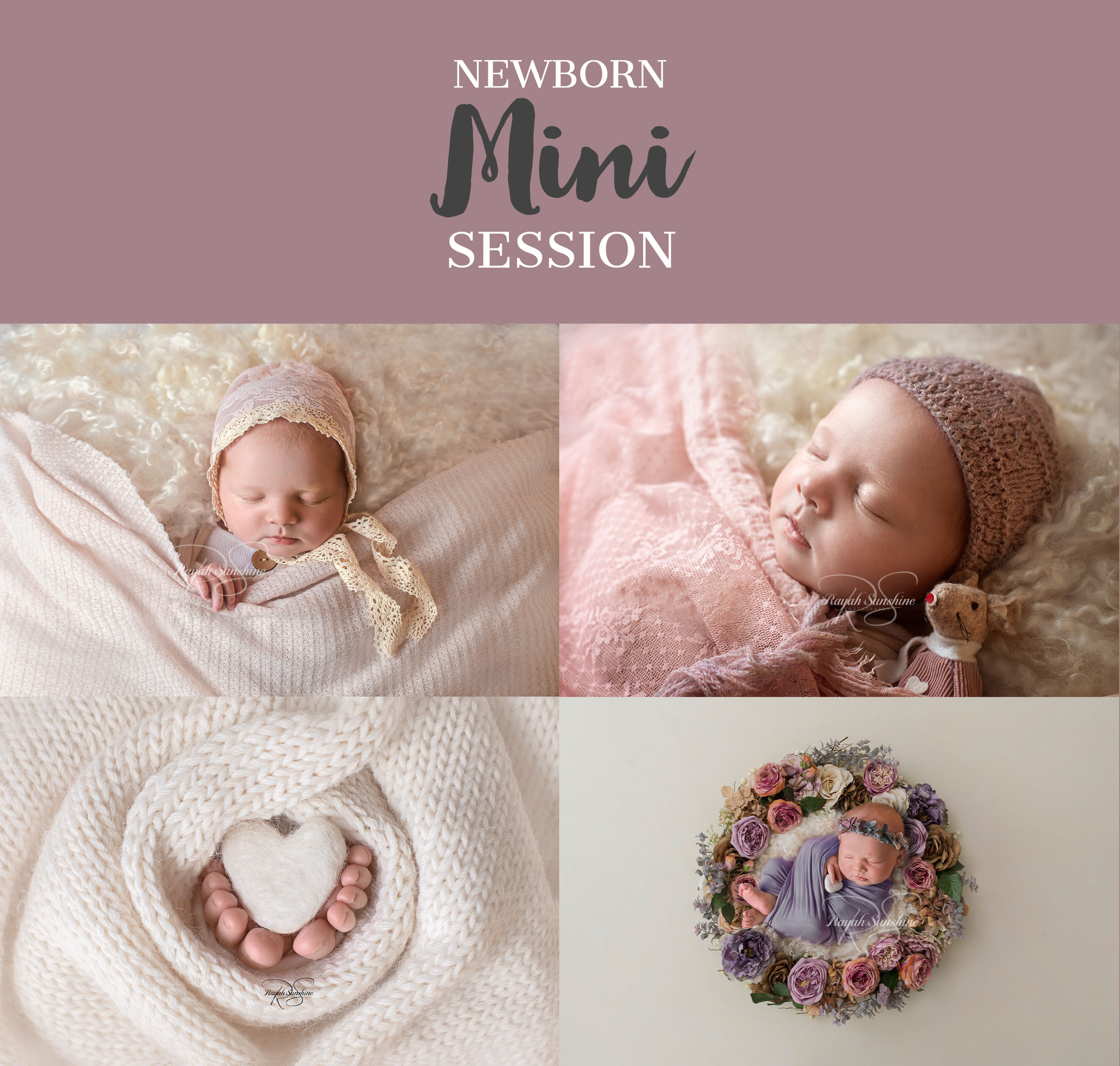 What is A Newborn Mini Session?